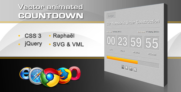 vector-animated-countdown-progress-bar