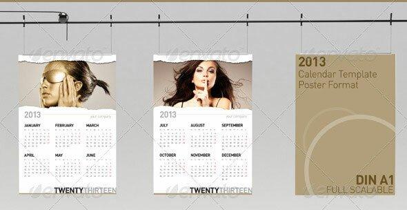 20 Beautiful Indesign Calendar Templates Design Freebies – Indesign Calendar Template