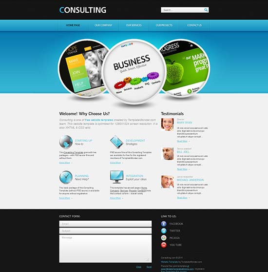 Free Consulting Template