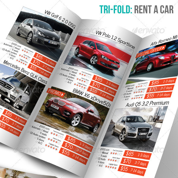 18 beautiful car brochure templates design freebies for Automobile brochure design