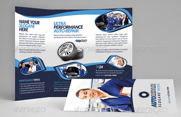 18 beautiful car brochure templates design freebies for Car brochure template