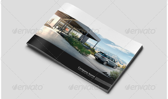 car-brochure-template