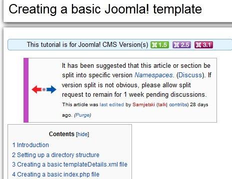 7 Useful Joomla Tutorials For Creating a Template – Design