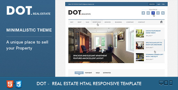 dot-real-estate-html5-css3-template
