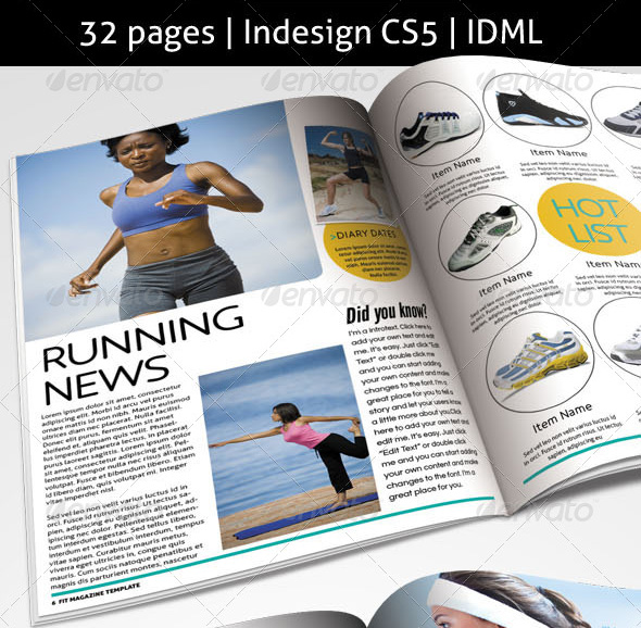 fit-magazine-template