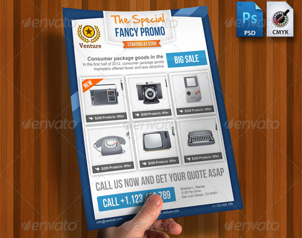 Promotional Flyer Templates Vosvetenet – Promotional Flyer Template