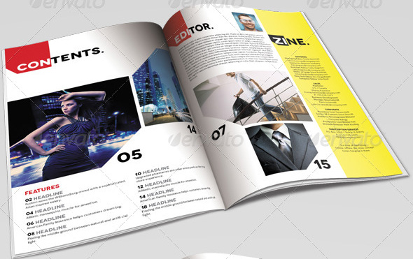 zine-magazine-template