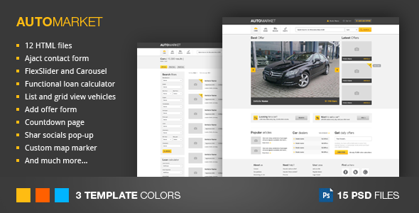 automarket-html-vhicle-marketplace-template