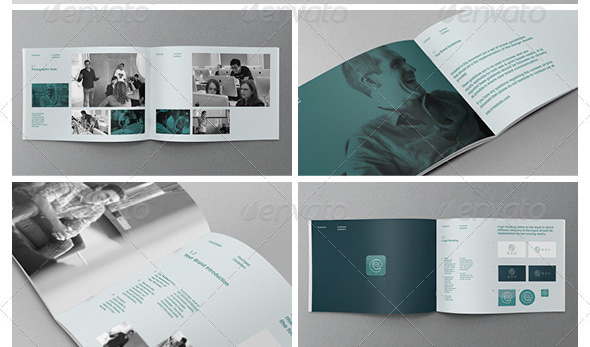 27 great brand book guideline indesign templates design freebies braand logo uidelines template maxwellsz