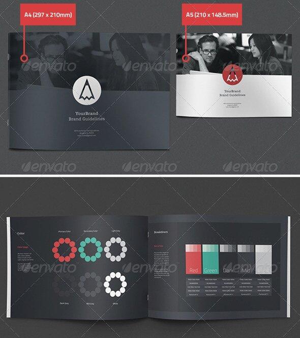27 great brand book guideline indesign templates  u2013 design