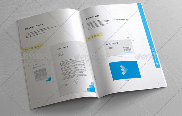 13 Great Brand Book Guideline Indesign Templates Design Freebies – Templates for Manuals