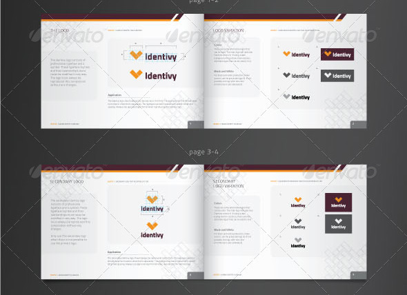 27 great brand book guideline indesign templates  u2013 design