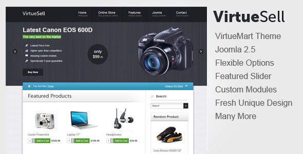 virtuesell-joomla-virtueMart-template