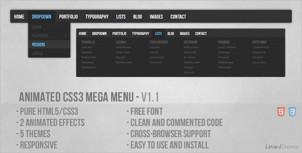 animated-css3-mega-menu