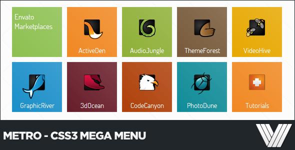 metro-css3-mega-menu