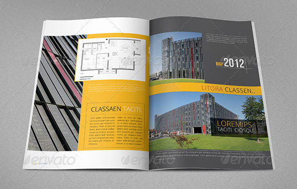 Beautiful Architecture Brochure Templates  Design Freebies