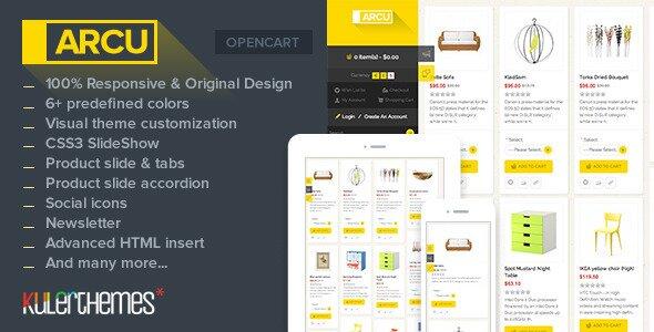 arcu-responsive-template-opencart-store