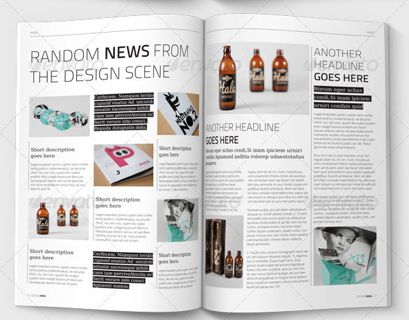 10 useful lifestyle indesign magazine templates design for Designs magazine