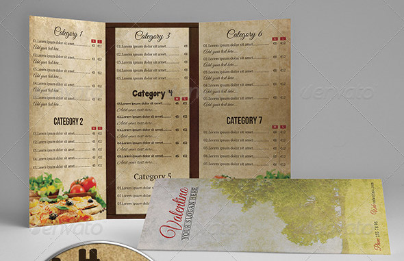 17 useful vintage restaurant menu templates psd