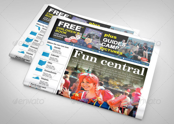 8 Great Newspaper mockup PSDs – Design Freebies