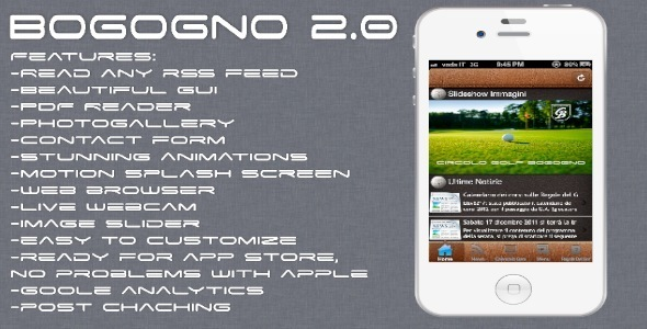 Bogogno Blog & Utility App