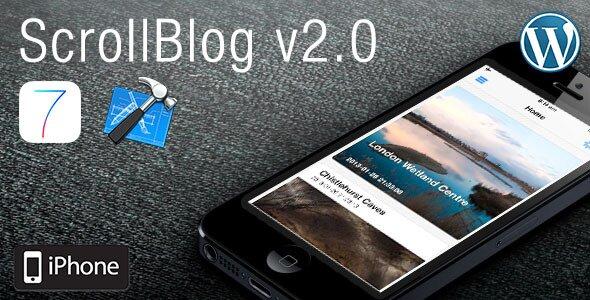 ScrollBlog For iOS