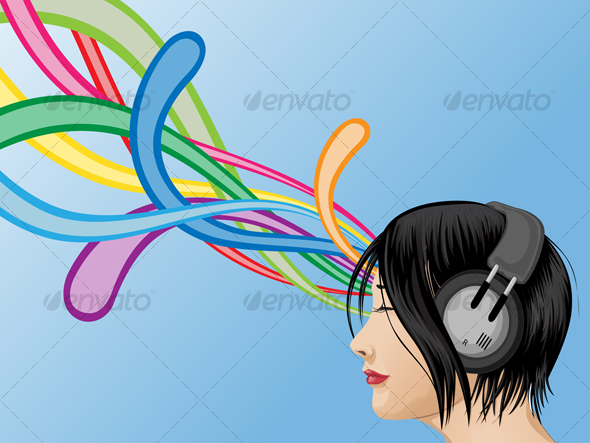 headphone-girl