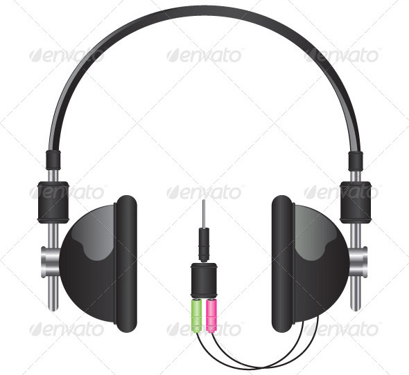 headphones-black-illustration