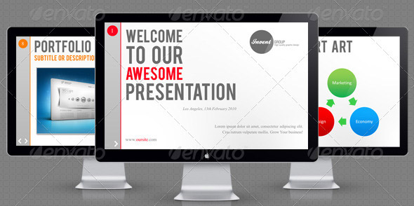 13 beautiful presentation templates – show off your idea – design, Powerpoint templates