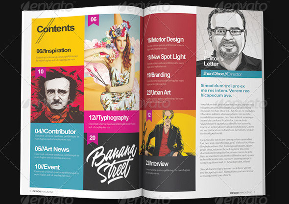 10 Beautiful Indesign Templates For Architecture Magazine Design