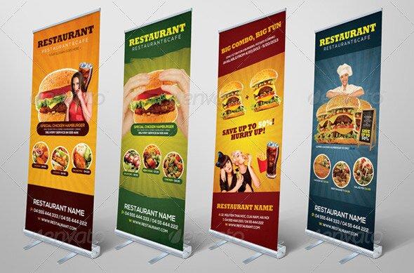 Great digital signage templates for restaurant design