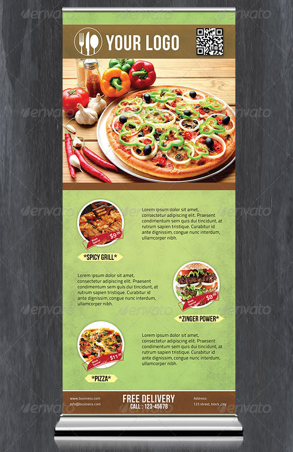20 Great Digital Signage Templates For Restaurant Design