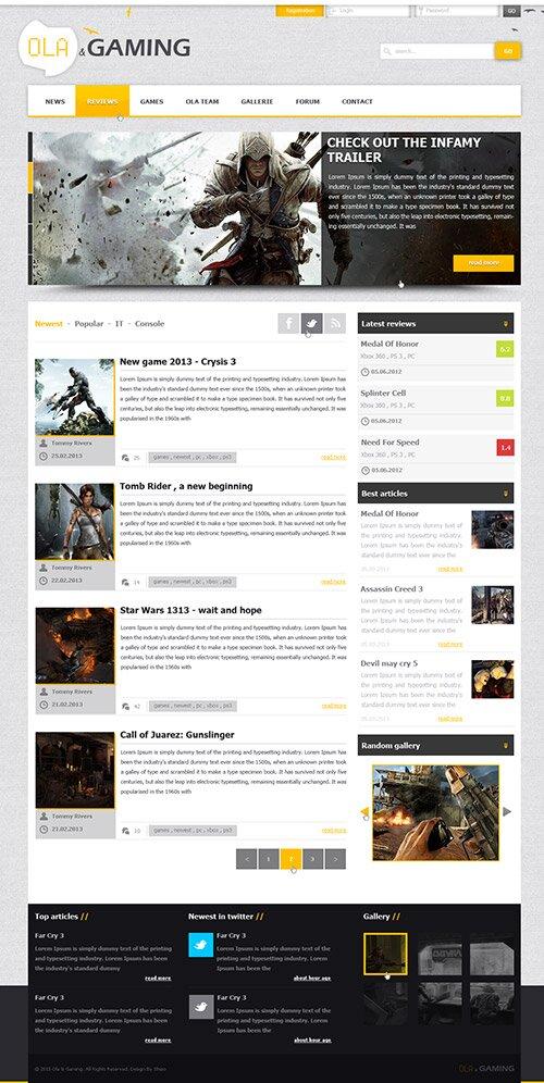 web-design-ola-gaming
