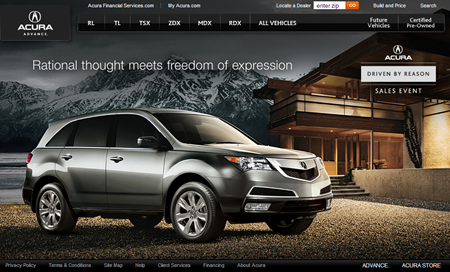 Acura Cars and SUVs Official Home