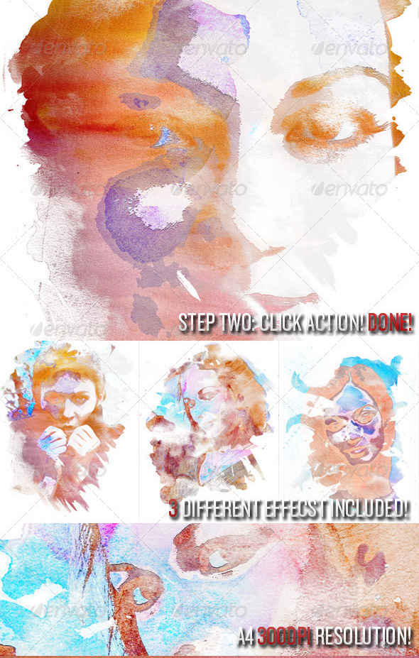 15 Useful Photoshop Actions For Watercolor Effects – Design Freebies