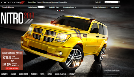Dodge Official Site