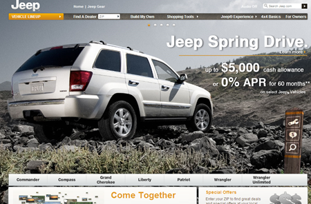 Jeep Official Site
