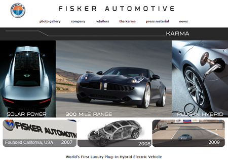 Karma by Fisker Automotive