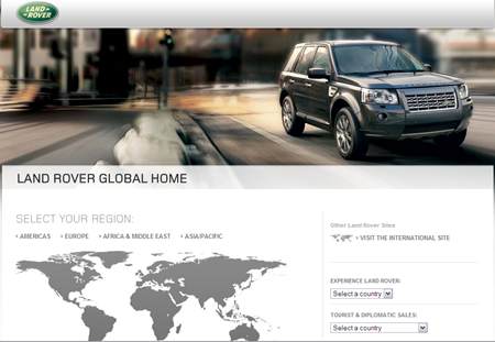 Land Rover Global Home