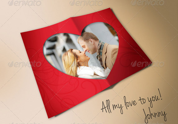 Love-Heart-Photo-Frame