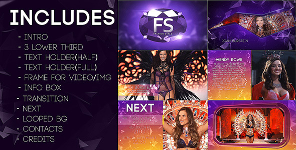 16 Great After Effects Templates For Fashion Opener, Promo & Broadcast