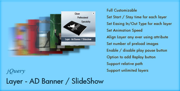 Layer - jQuery Ad Banner
