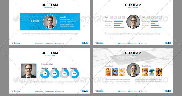 Great Portfolio Powerpoint Presentation Templates  Design Freebies