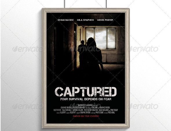 Captured-Movie-Poster-Template