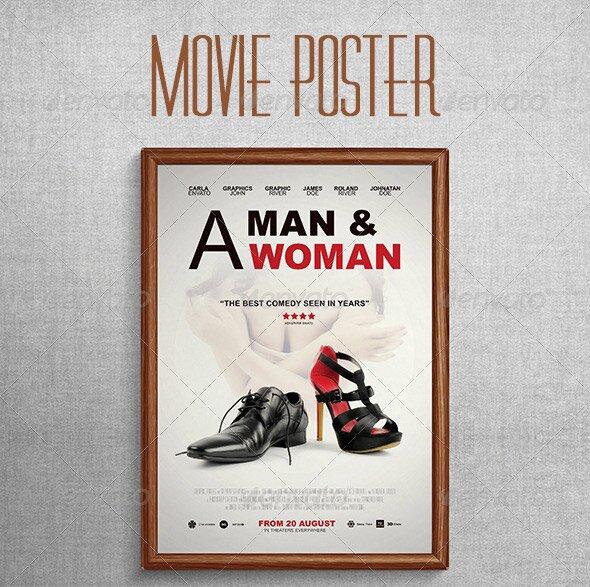 28 great movie poster psd  u2013 design freebies