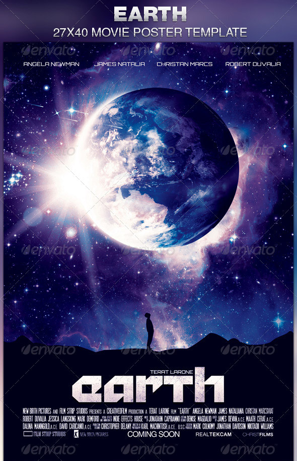 Earth-Movie-Poster-Template