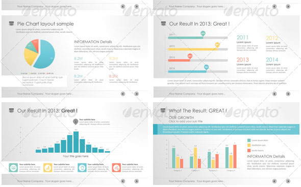 14 Great Powerpoint Templates For Annual Report Design