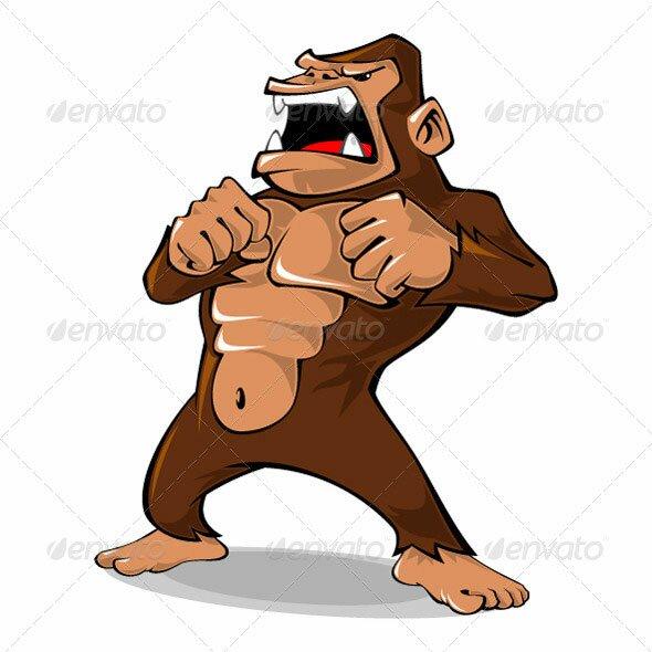 Cartoon Gorilla Related Keywords amp Suggestions