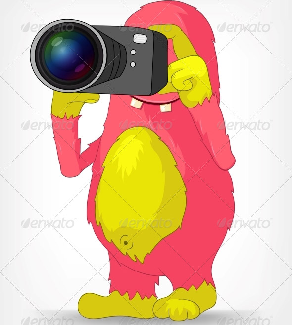Funny-Monster-Photographer