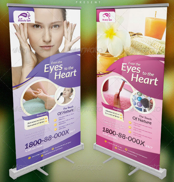 banner templates designed exclusively for corporate, beauty, spa ...